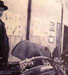 Советский Инженер и Мото Конструктор Петра Владимировича Можаров с НАТИ-А-750/ПМЗ-А-750