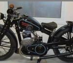 Советский Luxus. Мотоцикл Л-300 Красный Октябрь