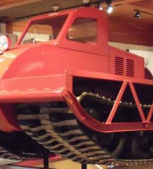 Спортсменам - торфяное болото Bombardier Muskeg