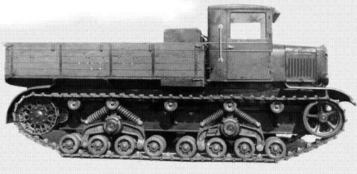 Средний артиллерийский тягач C-2 «Сталинец»
