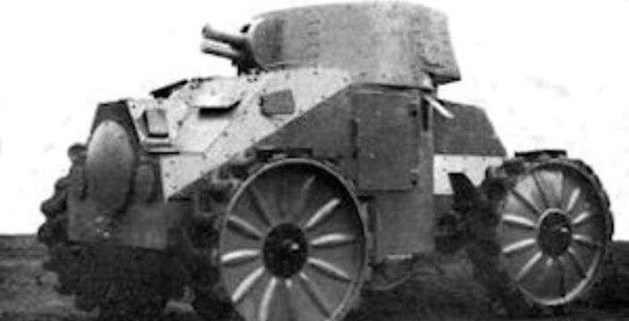 Танк «carro d'assalto 28»