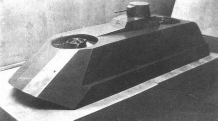 Танк на воздушной подушке Ползолёт или Земноводно подлетающий танк Левкова В.И.
