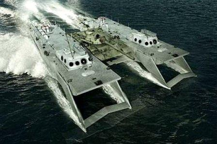 Танк на подводных крыльях Проект 80