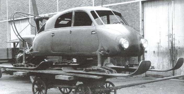 Татра V855 Аэросани широкого назначения. 1942 год Копршивнице