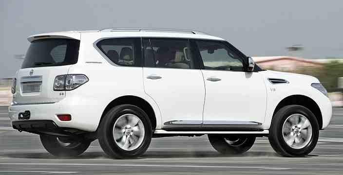 Тест-драйв нового Nissan Patrol Y62