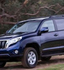 Тест драйв Land Cruiser Prado