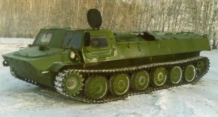 Технические характеристики Гусеничного транспортера-тягача ГТТ-ГТТС