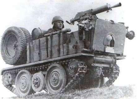 Тяни-толкай в армии. ADMK Austro Daimler машина огневой поддержки с пулеметом