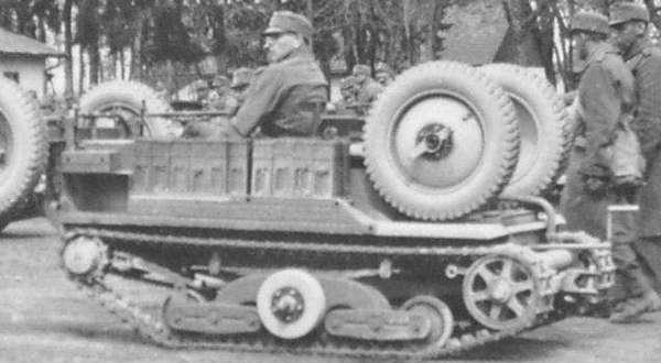 Тяни-толкай в армии. ADMK Austro Daimler