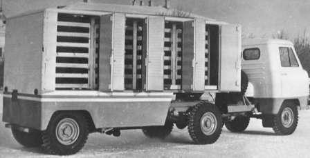 УАЗ-452 - Ему скоро 60, а он все молодеет... Седельный тягач