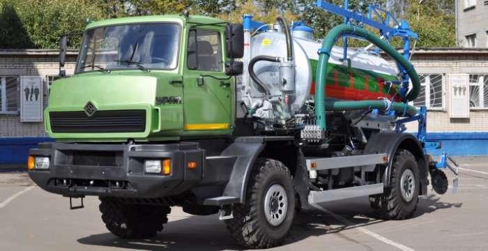 УРАЛ поддержит отечественного сельхозпроизводителя. УРАЛ-432065 Коммунальная техника