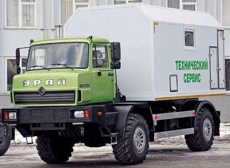 УРАЛ поддержит отечественного сельхозпроизводителя. УРАЛ-432065 Кунг