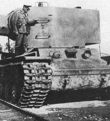 Ужас Тигров и Пантер. Танк КВ-2 - немецкий трофей