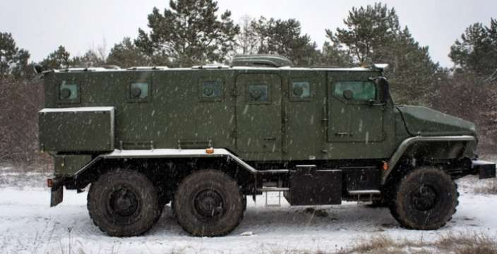 Универсальный солдат УРАЛ-4320-ВВ