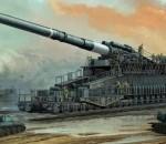 Царь-Пушка Второй Мировой. Железнодорожное орудие «Дора» калибр 807 мм