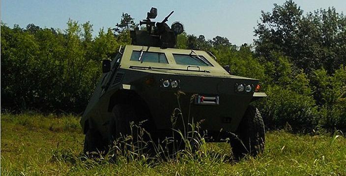 Черная антилопа Сербский броневик palanca negra
