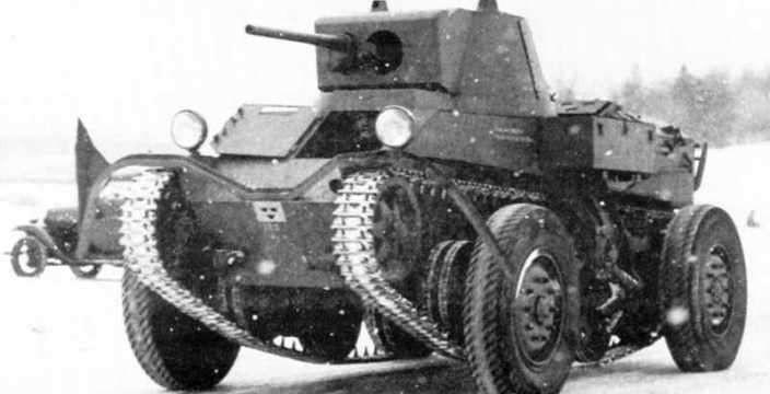 Шведы нарушили Версальский договор. Колесно-гусеничный танк Ландсверк L-30