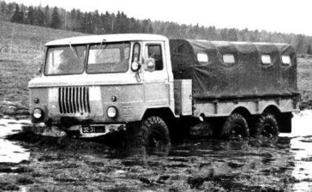 Шишига - памятник автомобилестроению СССР. ГАЗ-34 6х6 на базе ГАЗ-66 и ЗИС-151