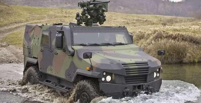 Электрические внедорожники для горной разведки Mowag Eagle IV-DV