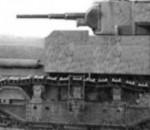Эрзац-танк, броневик, шушпанцер - малый трактор РККА с Башенным орудием 45 мм