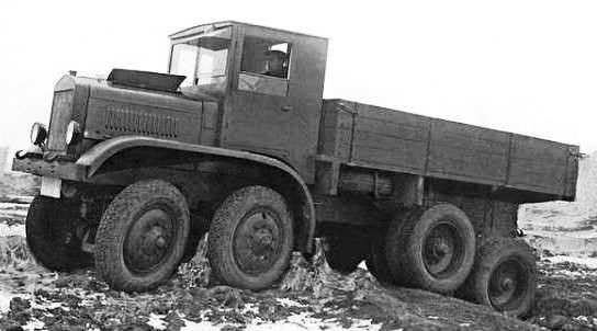 Ярославский автомобильный завод и его прошлое. ЯГ-12