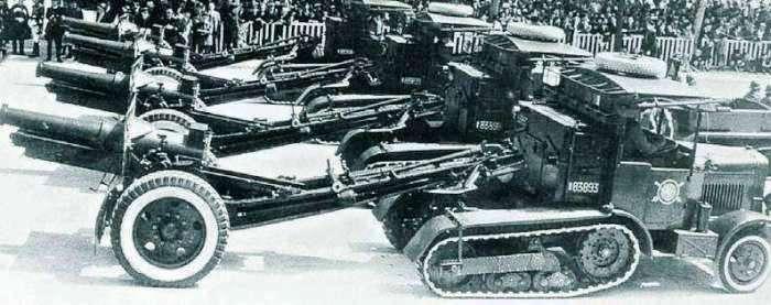 Ярославский автомобильный завод и его прошлое. ЯСП на параде