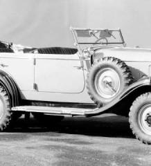 Довоенный Гелендваген Mercedes G4 или Praha AV 1934