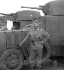 611-й Итальянский Полицейский и Солдат. Carro Assalto FIAT-611