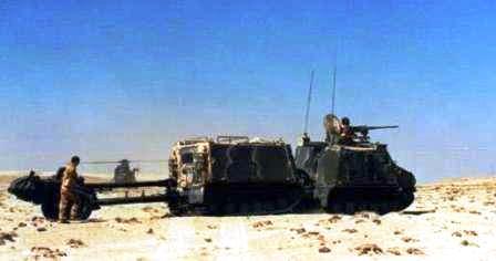 BvS-10 с противотанковым орудием Английский брат Лося и Ледоруба