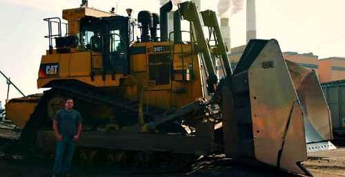 Бульдозер Caterpillar Cat D10 отметил 50 летие. Версия с ковшом шириной 5,8 метра