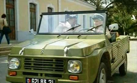 Citroën Méhari мечта любого коллекционера. Луи де Фюнес В фильме «Жандарм и жандарметки»