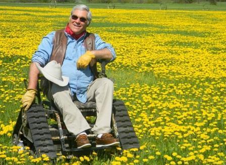 Инвалидная коляска вездеход