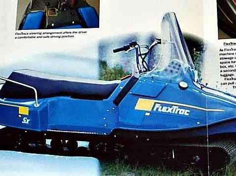 FlexTrac - Finncat - моногусеничный снегоход