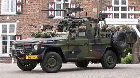 Gelandewagen – автомобиль мечты. Военная версия.