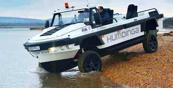 HSA амфибии Humdinga и Aquada побудут в Дохе