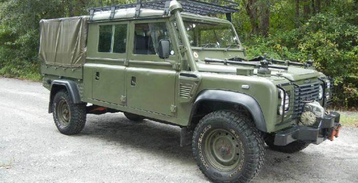 Land Rover Wolf 4x4 военный автомобиль Соединенного Королевства