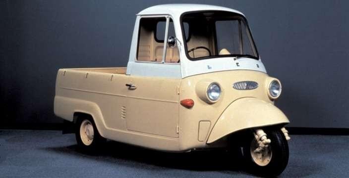 Mitsubishi Motors делили на 40. Mitsubishi Leo 1959