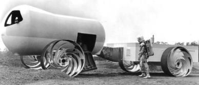 MoLab - первая американская космическая лаборатория-вездеход. MoLab 2
