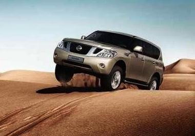 Nissan Patrol - лучший из лучших. Песок не преграда