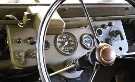 Porsche 597 Jagdwagen Приборная панель