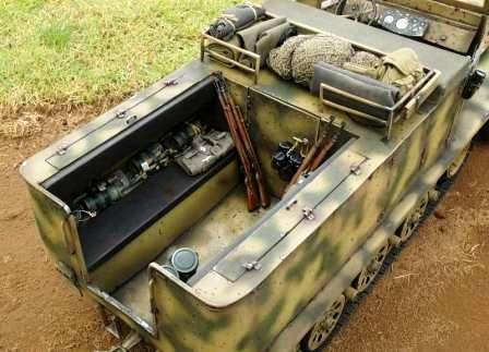 SdKfz 11 – машина вермахта, овеянная историей. Сидения для экипажа