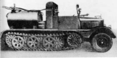 SdKfz 11 – машина вермахта, овеянная историей. SdKfz11-3 для распыления отравляющих химикатов