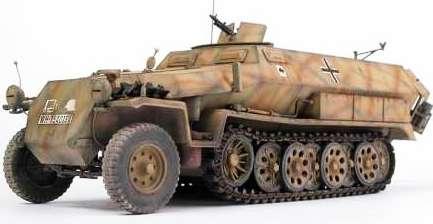 SdKfz 11 – машина вермахта, овеянная историей. SdKfz251 бронетранспортер