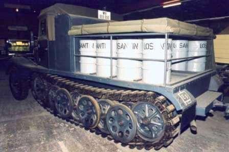 SdKfz 11 – машина вермахта, овеянная историей. Sdkfz11-2 Дегазатор