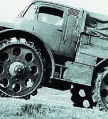 Skoda RSO Порожденный войной Radschlepper Ost PorscheType 174