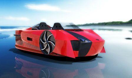 Supercraft автомобиль на воздушной подушке