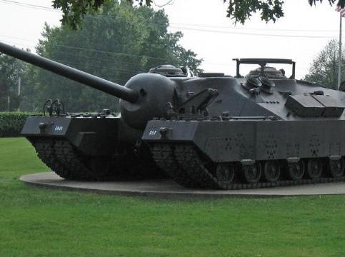 Необычные танковые разработки США. T28/T95