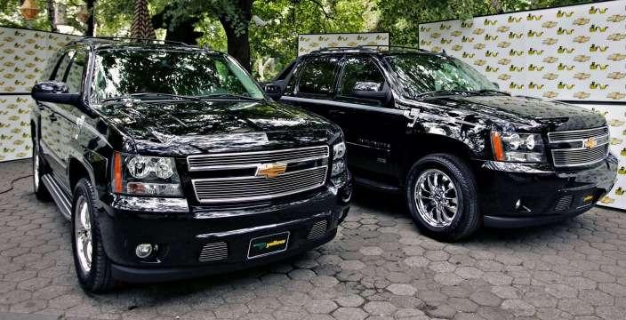 Tahoe - младший брат Silverado Chevrolet