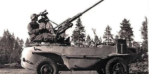 """VolksWagen Typ 166 """"Schwimmwagen"""" 1942-1944 - Оружие поражения! (1)"""