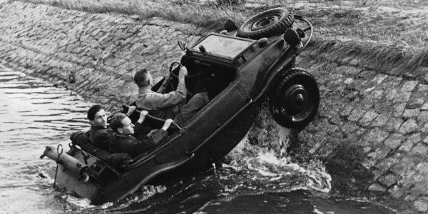 """VolksWagen Typ 166 """"Schwimmwagen"""" 1942-1944 - Оружие поражения! (2)"""